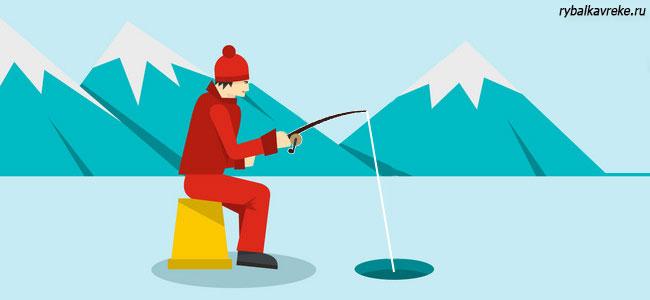Оптимальная толщина льда для зимней рыбалки