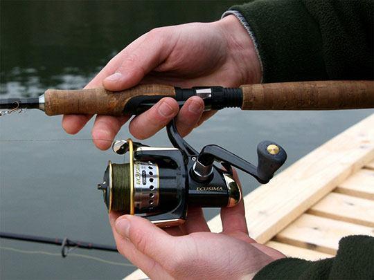 Эксплуатация катушки в спиннинговой рыбалке