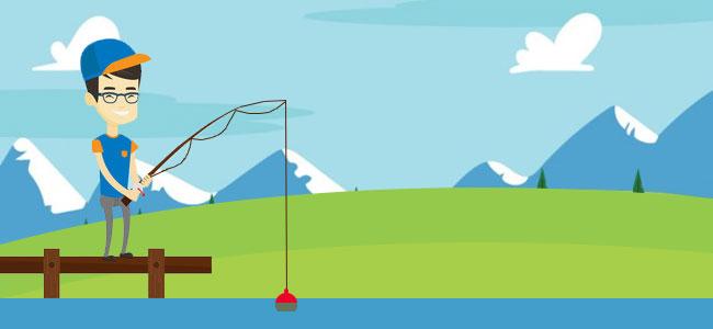 Принципы выбора места для рыбалки