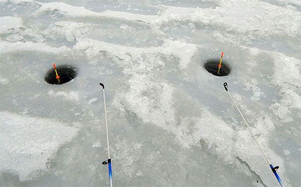 Зимняя поплавочная оснастка на леща