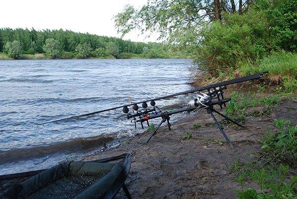 Осадки во время рыбалки