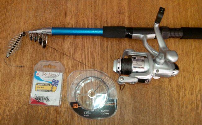 Подготовка снаряжения для рыбалки