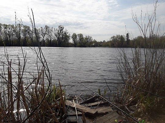 Ловля рыбы в апреле