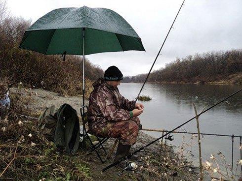 Правила рыбалки в дождь