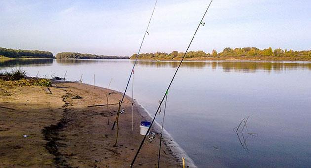Ловля рыбы в октябре
