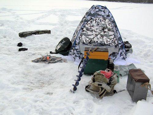 Инвентарь для зимней рыбалки