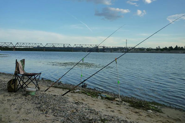 Выбор оптимального места для ловли рыбы