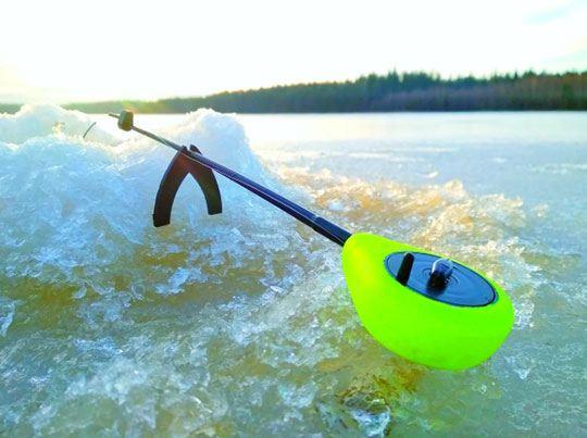 Выбор места для ловли в зимнее время года