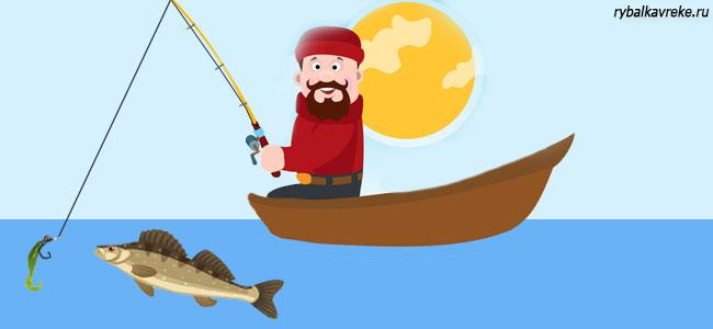 Способы ловли судака
